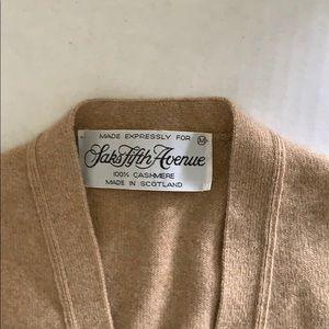 Saks Fifth Avenue cardigan